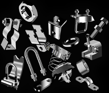 stainless steel conduit fitting accessories illustrations by larry dunlap graphic design