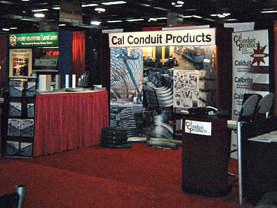 ccp trade show booth art by larry dunlap graphic design